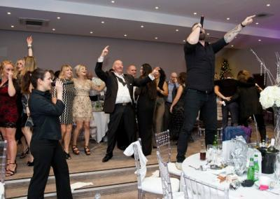 singing waiters surprise entertainment